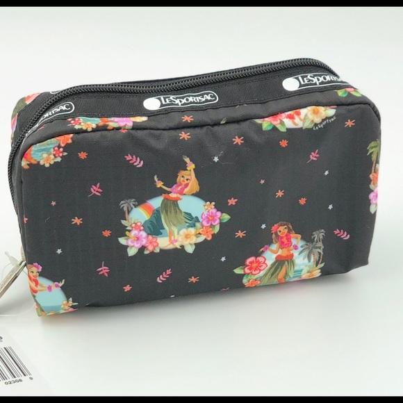 4c476eb949ec Lesportsac Bags | Hawaii Exclusive Hula Girl Cosmetic | Poshmark